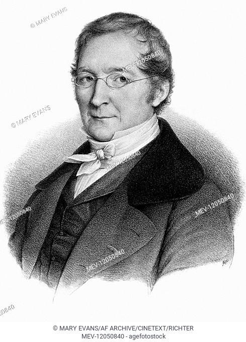 Joseph Louis Gay-Lussac French Chemist & Physicist (1778-1850) / Nach Der Lithographie Von Belliard-Delpech / Based On The Lithograph By Belliard-Delpech 01...