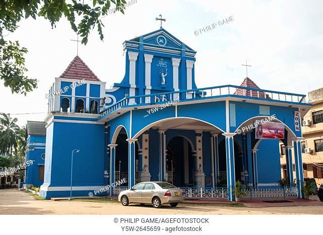 St Mary's Catholic Cathedral at Batticaloa on the east coast of Sri Lanka