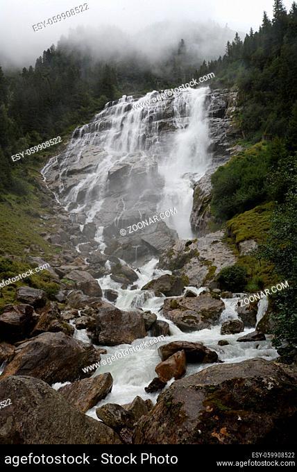 grawa, grawa-wasserfall, grawawasserfall, wasserfall, kaskade, Stubaital, stubai, tirol, österreich, alpen, berg, berge, gebirge, hochgebirge, stubaier alpen