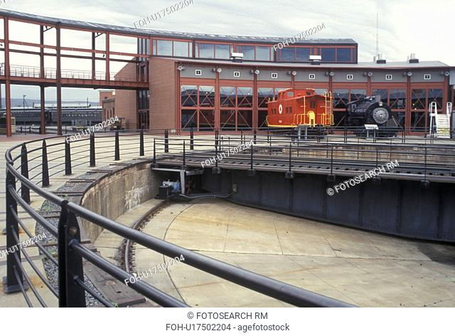 PA, Scranton, Pennsylvania, Steamtown National Historic Site, railroad, train museum