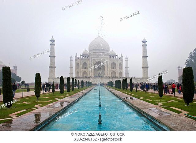 India, Uttar Pradesh, Agra, Taj Mahal Complex, Taj Mahal