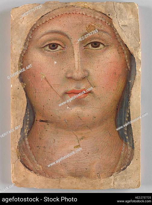 Head of the Virgin, ca. 1397. Creator: Taddeo di Bartolo