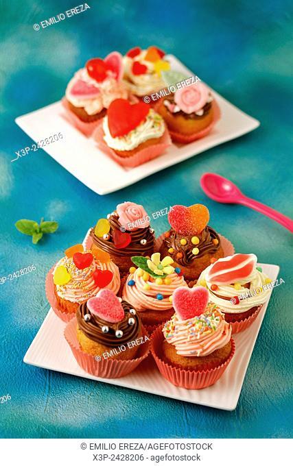 Fall in love cupcakes