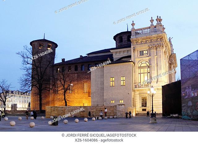 Palazzo Madama, Torino, Italy, Europe