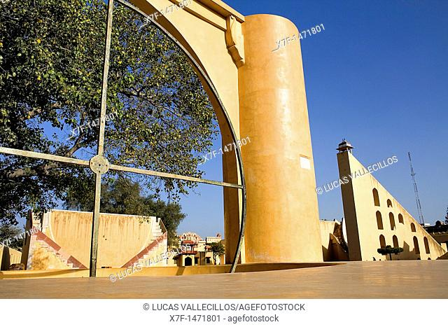 Jantar Mantar Observatory, Jaipur, Rajasthan, India