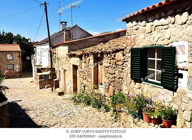 Medieval town of Castelo Bom, Guarda district, Portuga