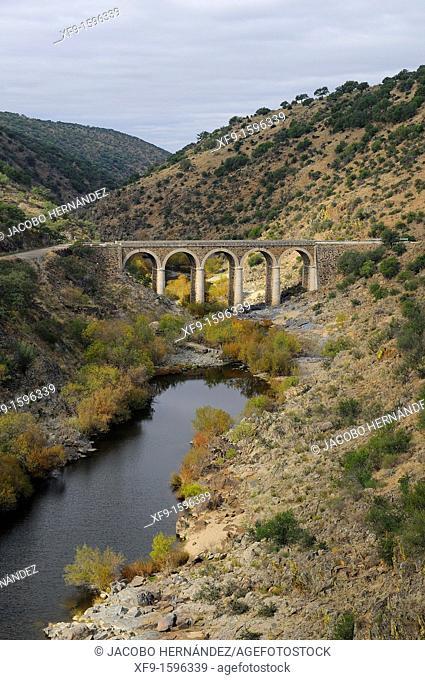 Salor river, Cáceres province, Extremadura, Spain