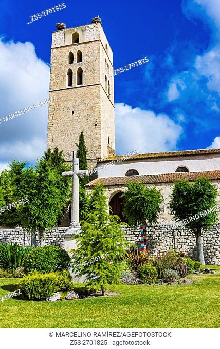 The Church of El Salvador de Cuellar is a Catholic temple. Cuéllar, Segovia, Castilla y León, Spain, Europe