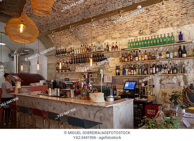 Zappi Caffe Restaurant in Trendy Santos, Lisbon - Portugal