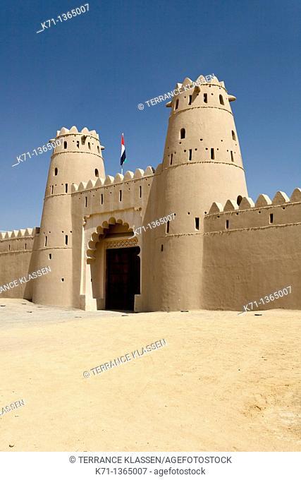The Al Jahili Fort in Al Ain, United Arab Emirates, Middle East