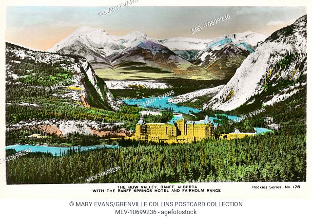 Banff Springs Hotel - Bow Valley, Canada - Fairholm Ridge