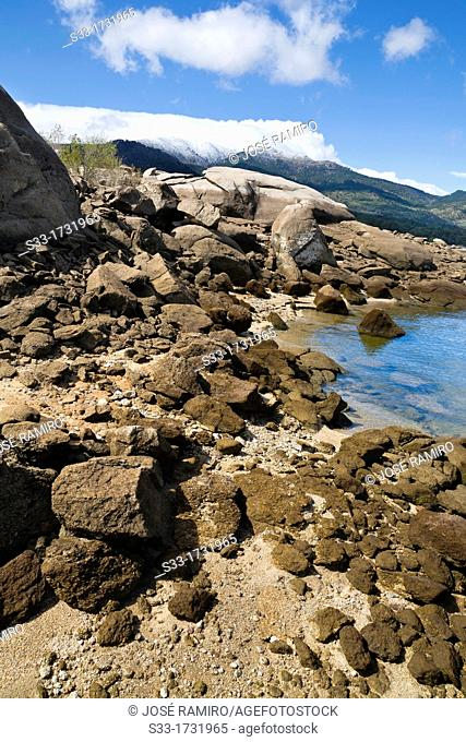 Burguillo reservoir in the Iruelas Valley  Ávila  Castilla León  Spain