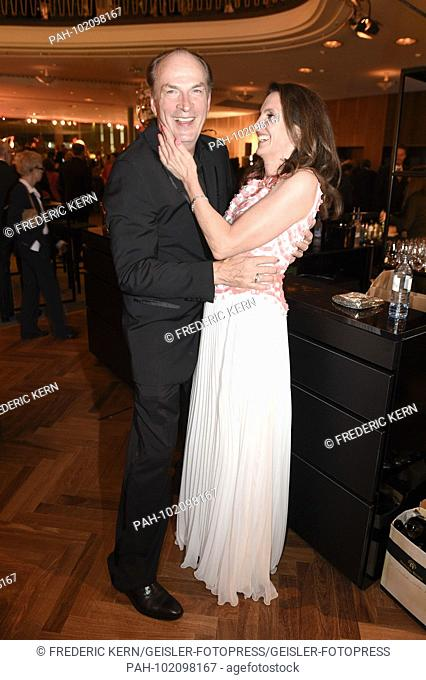 Herbert Knaup and wife Christiane Knaup at the Aftershow Party of the German Film Award 2018 in the Palais am Funkturm. Berlin, 27.04