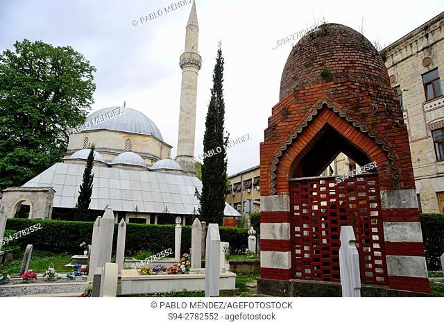 Mosque Karadjoz Bey, Mostar, Bosnia and Herzegovina