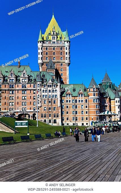Chateau Frontenac , Quebec City, Canada