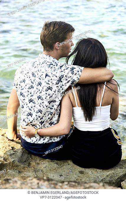 Couple. Chersonissos, Crete, Greece