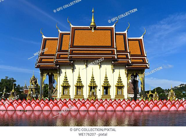 Suwannaram Temple, Wat Plai Laem, Koh Samui, Thailand