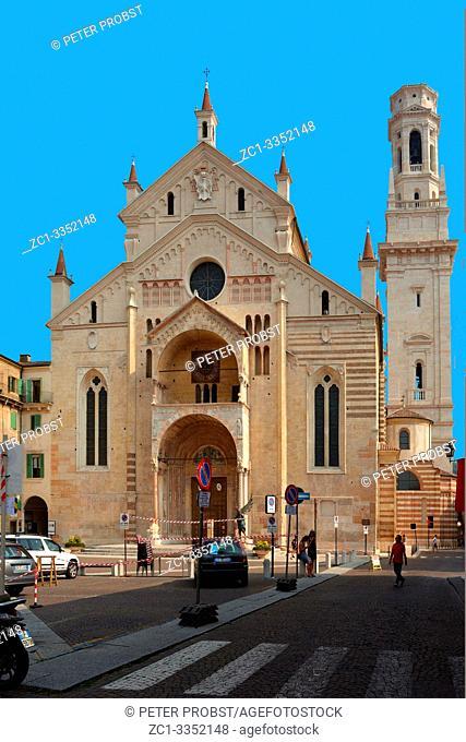 Cathedral of Santa Maria Matricolare in Verona - Italy