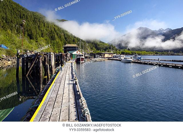 Westview Marina in Tahsis, near Gold River, Vancouver Island, British Columiba, Canada