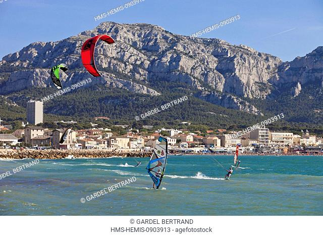 Marseille Prado Beach Stock Photos And Images Agefotostock