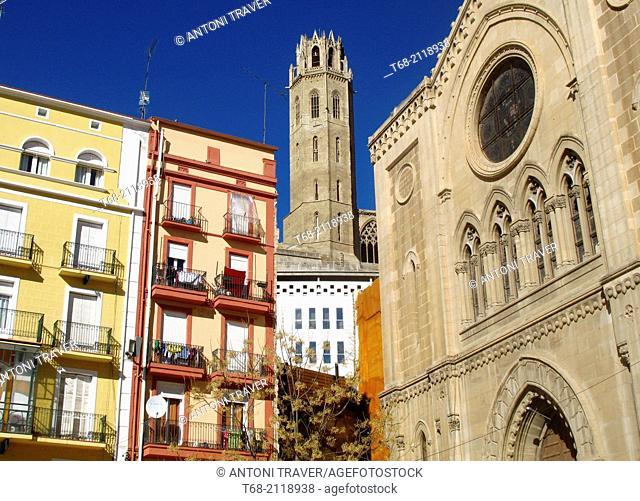 Church of San Juan, Belfry of the Old Seo, Lleida, Spain