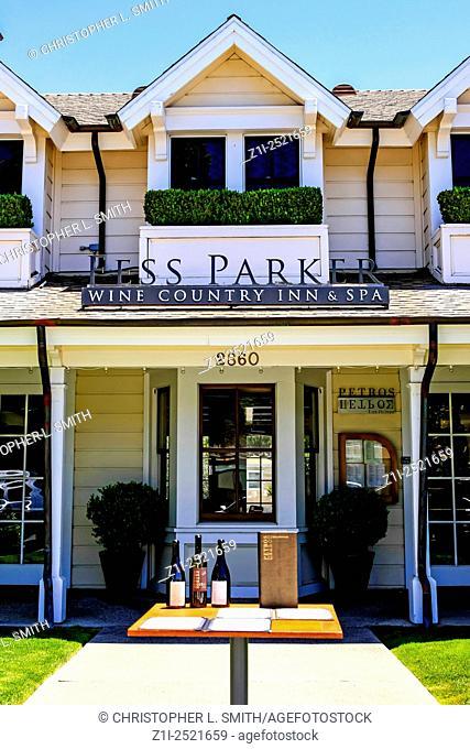 Fess Parker Inn and Spa in Los Olivos, a small town in the Santa Maria Valley region in Santa Barbara County in California