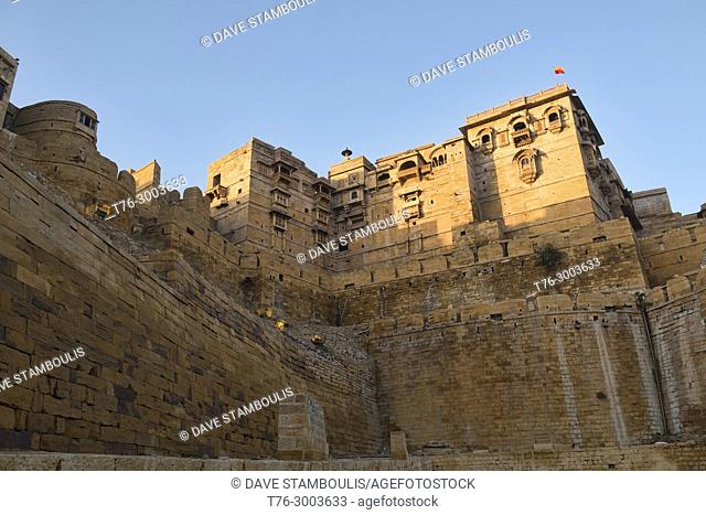 Morning light on the Jaisalmer Fort, Jaisalmer, Rajasthan, India