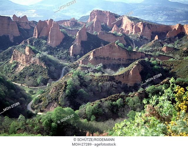 Las Medulas, römisches Goldbergbau-Gebiet/Landschaft