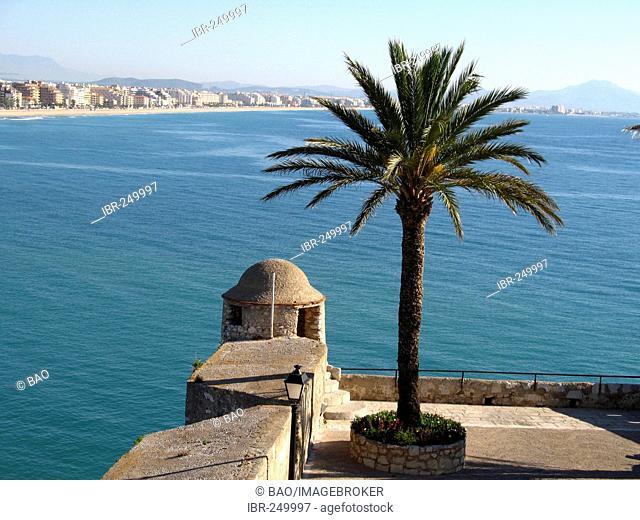 Fortress of Peniscola, Costa Dorada, Spain
