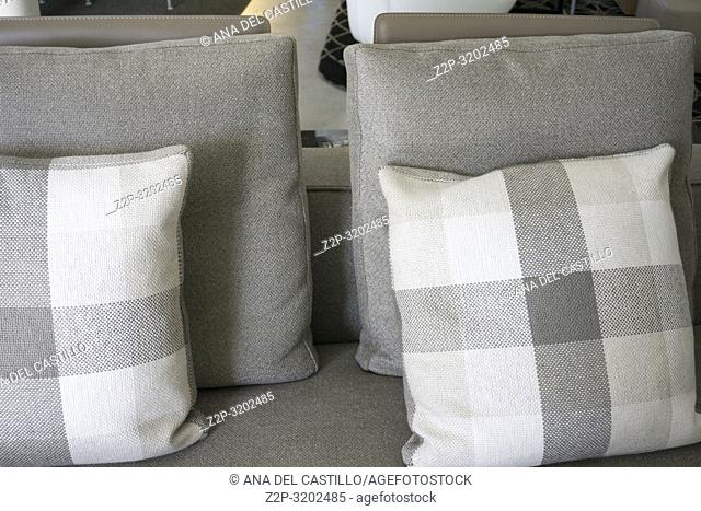 casual sofa in the living room