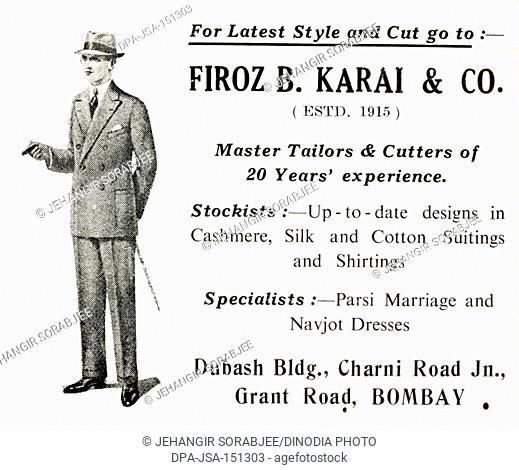 Advertisement , Parsi Lustre BK , Firoz B. KLarai & Co