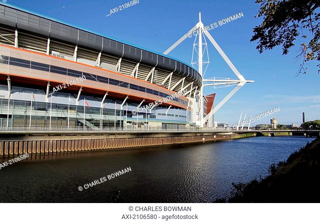United Kingdom, Wales, Millennium Center; Cardiff