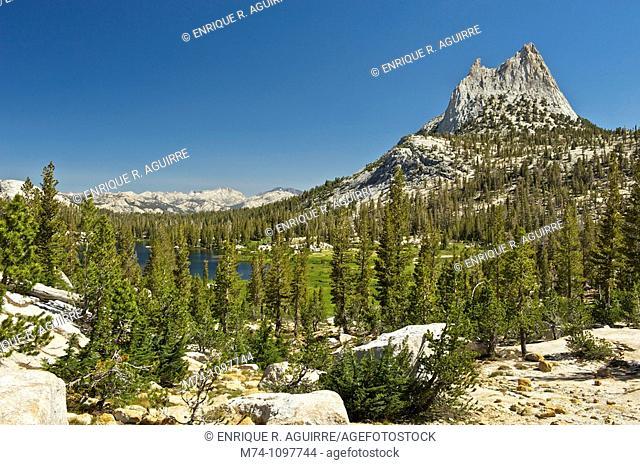 Cathedral Peak, Yosemite National Park, California, USA
