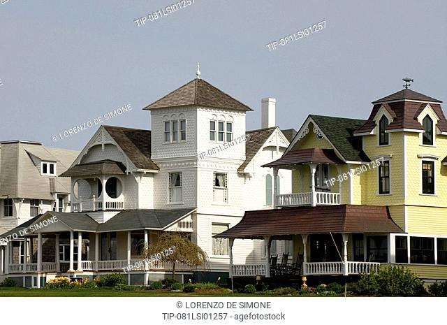 USA, Massachusetts, Martha's Vineyard, Oak Bluffs