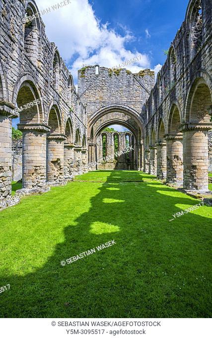 Buildwas Abbey, Shropshire, England, United Kingdom, Europe