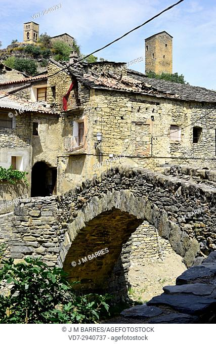 Montañana, Puente de Montañana municipality. Ribagorza, Huesca province, Aragon, Spain