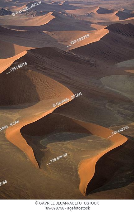 Namib Desert, Sossusvlei  red dune. Namibia