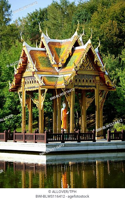 Thai-Sala in the Munic Westpark, Germany, Bavaria, Muenchen