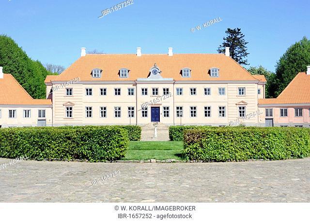 Moesgård Museum, a former manor house, Århus or Aarhus, Jutland, Denmark, Europe