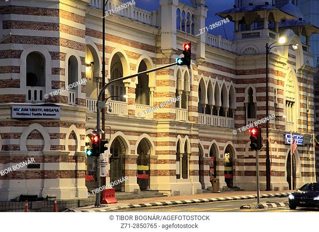 Malaysia, Kuala Lumpur, Merdeka Square, National Textile Museum, heritage architecture,