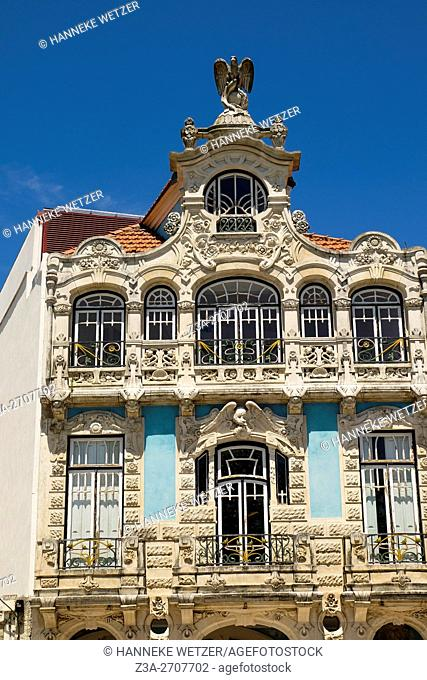 Traditional architecture of Aveiro, Portugal