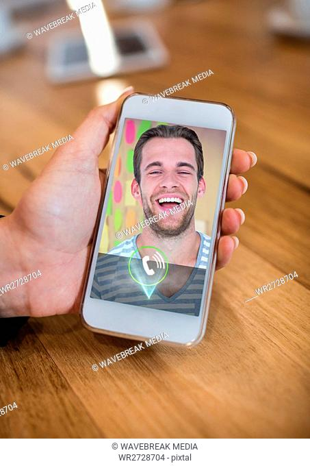 Video call on smart phone