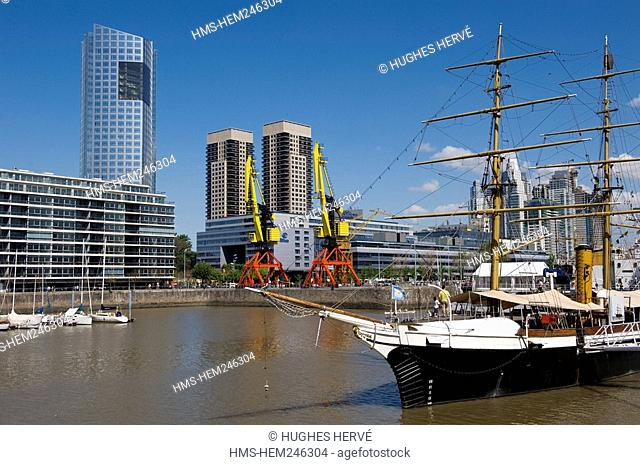 Argentina, Buenos Aires, Puerto Madero District