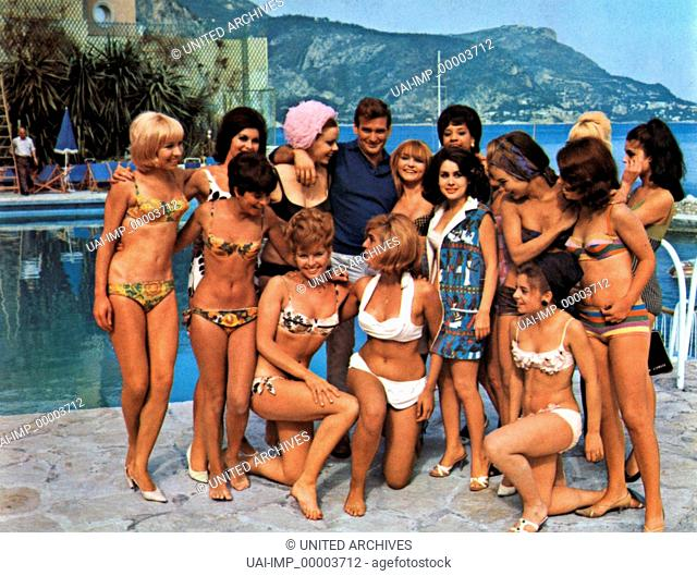 L - Der Lautlose, (THE LIQUIDATOR) GB 1965, Regie: Jack Cardiff, ROD TAYLOR (mi), Stichwort: Bikini, Mädchen