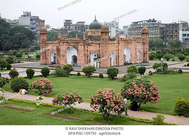 Lalbagh Fort ; Bangla-Muslim style  Architecture ; Dhaka ; Bangladesh