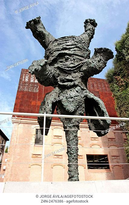 Gran Elefant Dret by Miquel Barceló, Caixa Forum, Madrid, Spain