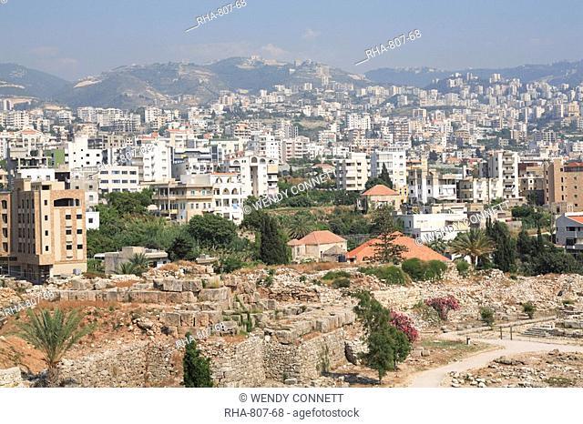 Byblos, UNESCO World Heritage Site, Jbail, Lebanon, Middle East