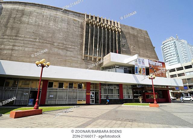 Municipal theatre, staedtisches Theater, Antofagasta, Norte Grande, northern Chile, Nordchile, Chile, South America, Suedamerika
