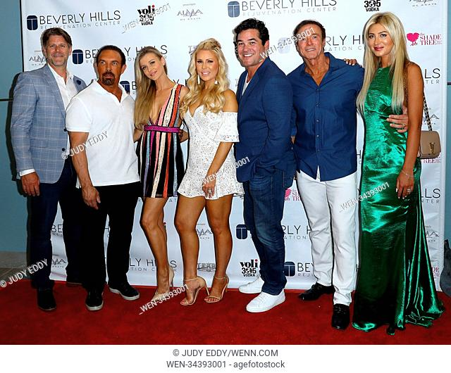 Beverly Hills Rejuvenation Center Grand Opening Event In Downtown Summerlin To Benefit The Shade Tree Featuring: Slade Smiley, Dan Holtz, Joanna Krupa