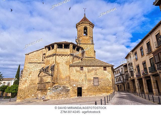Iglesia de San Pablo. Ubeda. Jaen Province. Andalusia. Spain
